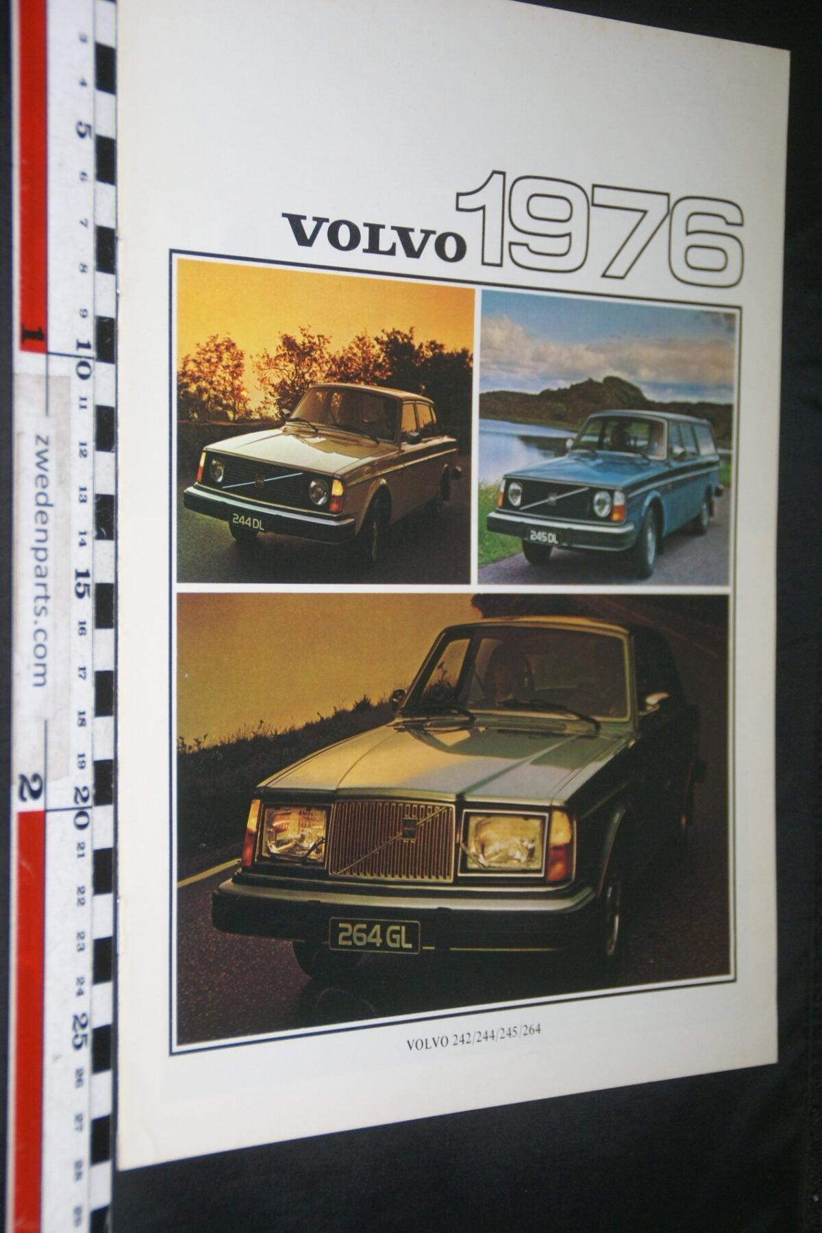 DSC03284 1976 originele brochure Volvo programma nr RSPPV 2745-e0189719