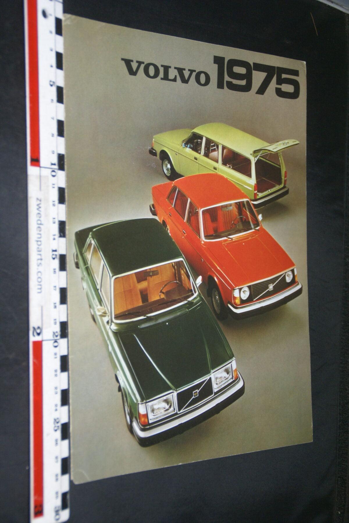 DSC03292 1975 originele brochure Volvo programma nr RSPPV 1915-f2e37aff