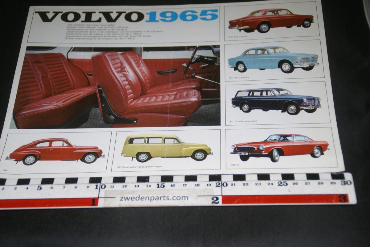 DSC03307 1965 originele brochure Volvo 1800 programma nr RK 1612-ff392279