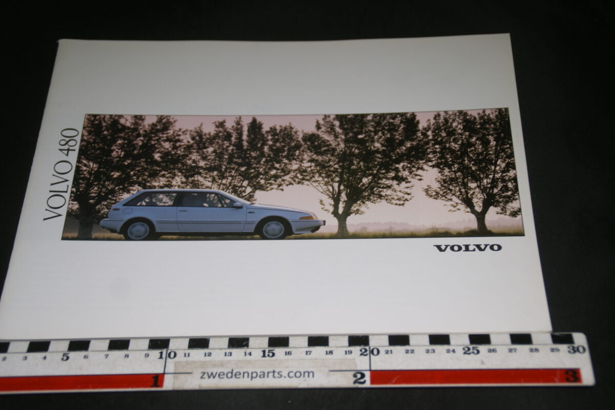 DSC03333 1991 originele brochure Volvo 480 nr. MCCAR BV 6621-c729190d