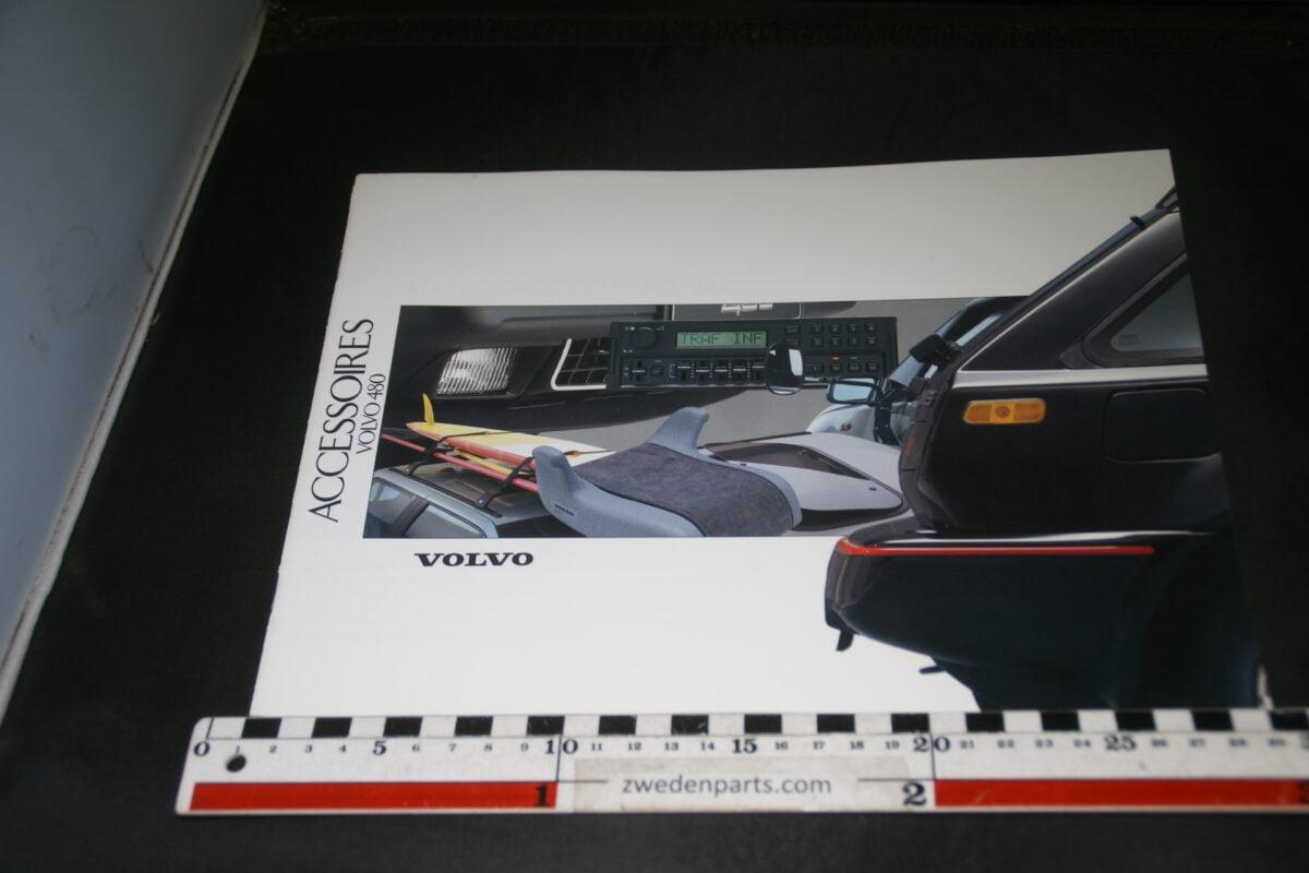 DSC03339 1991 originele brochure Volvo 480 accessoires nr. CARPAC 1561-d3fd99cc