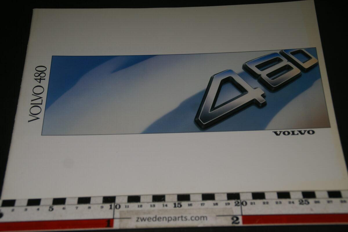 DSC03342 1988 originele brochure Volvo 480 nr. ASPCAR BV 4051-6f838121