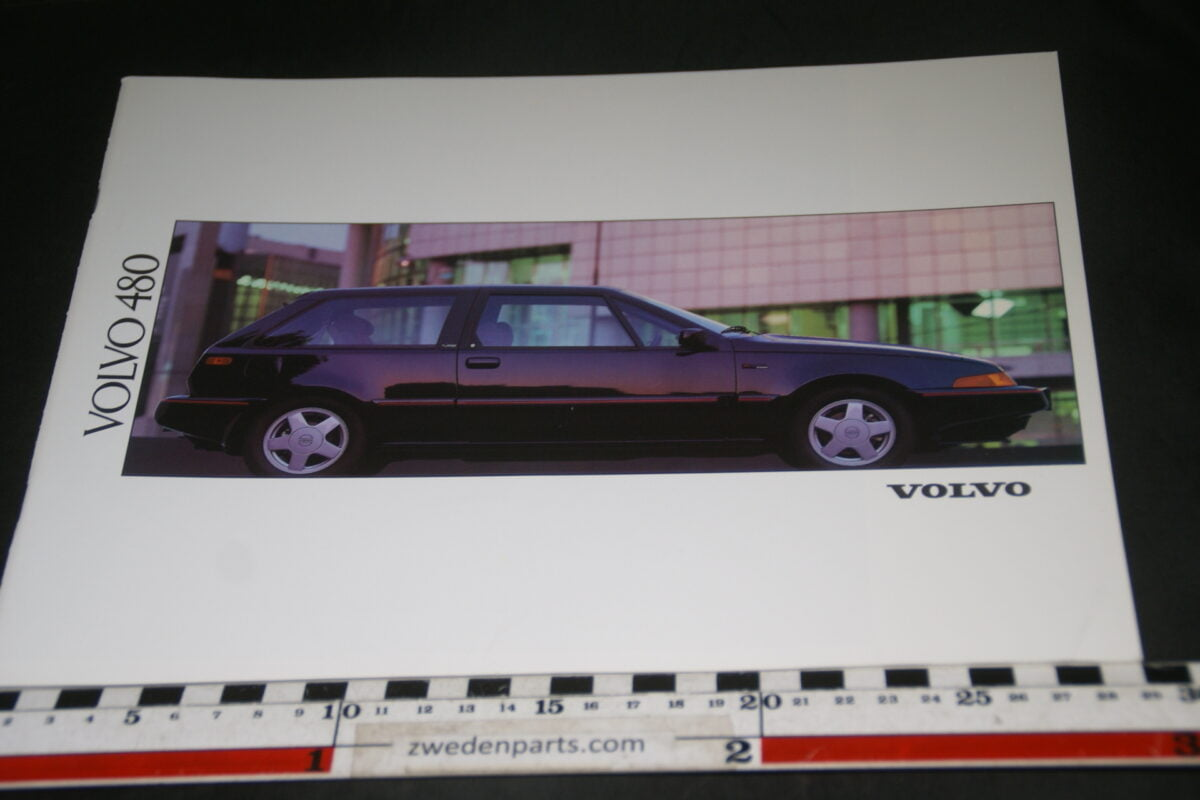 DSC03350 1992 originele brochure Volvo 480 nr. MCCAR BV 7551-5c1cd644