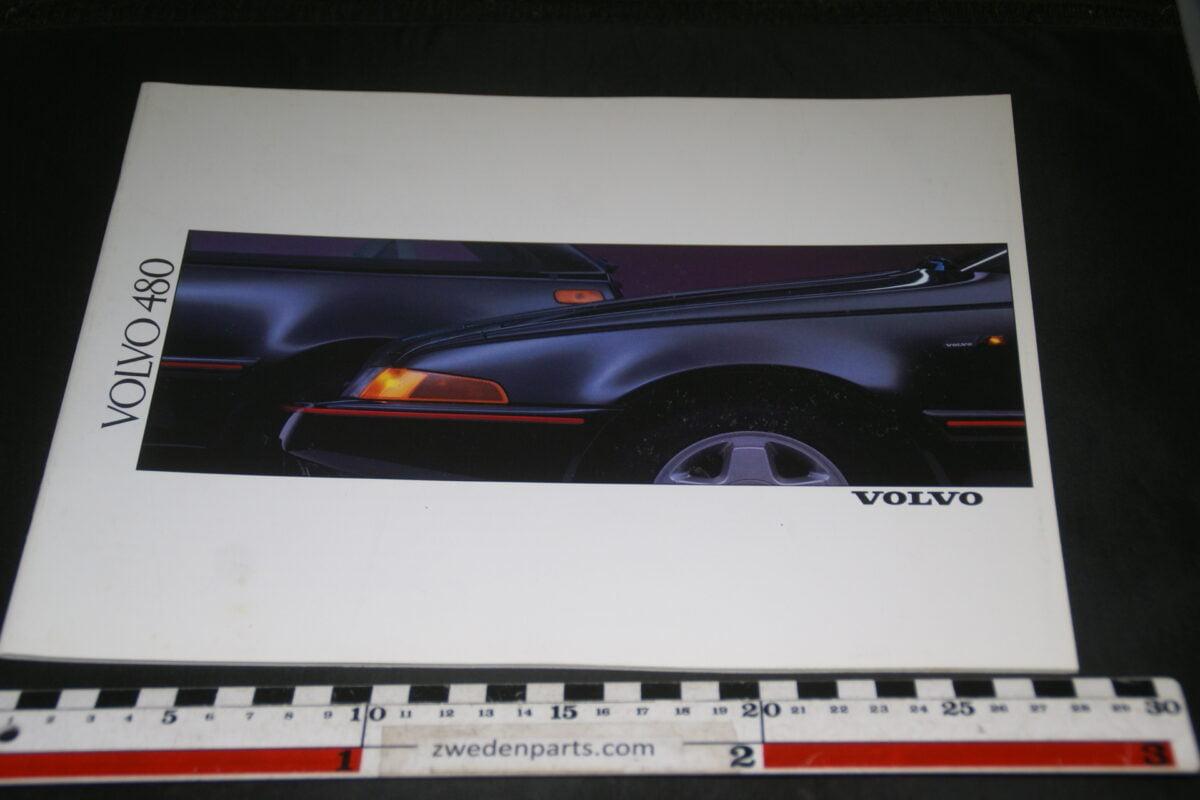 DSC03353 1989 originele brochure Volvo 480 nr. ASPCAR BV 5101-55edbe3e