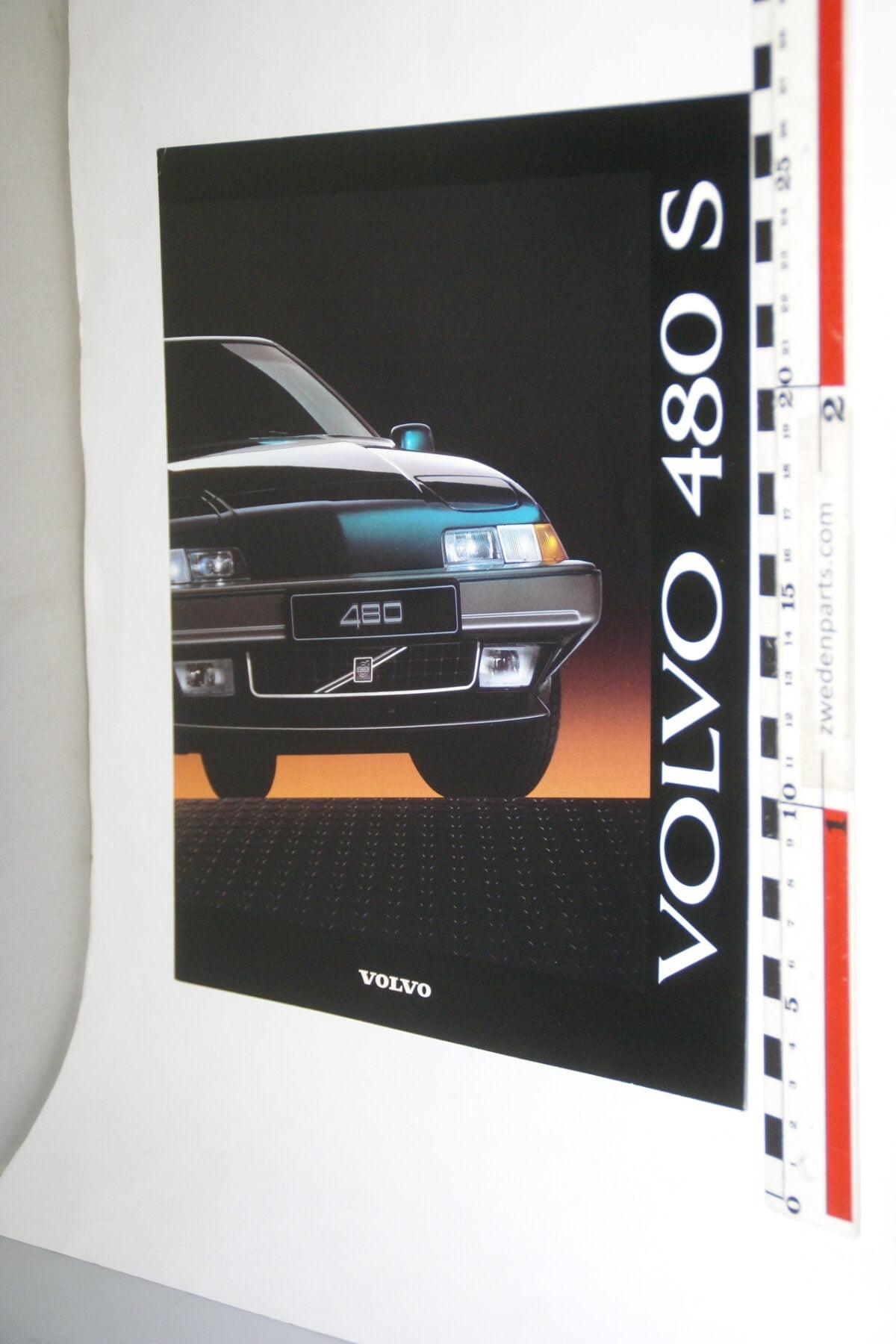 DSC03355 ca. 1991 originele brochure Volvo 480S-a1e5d04a
