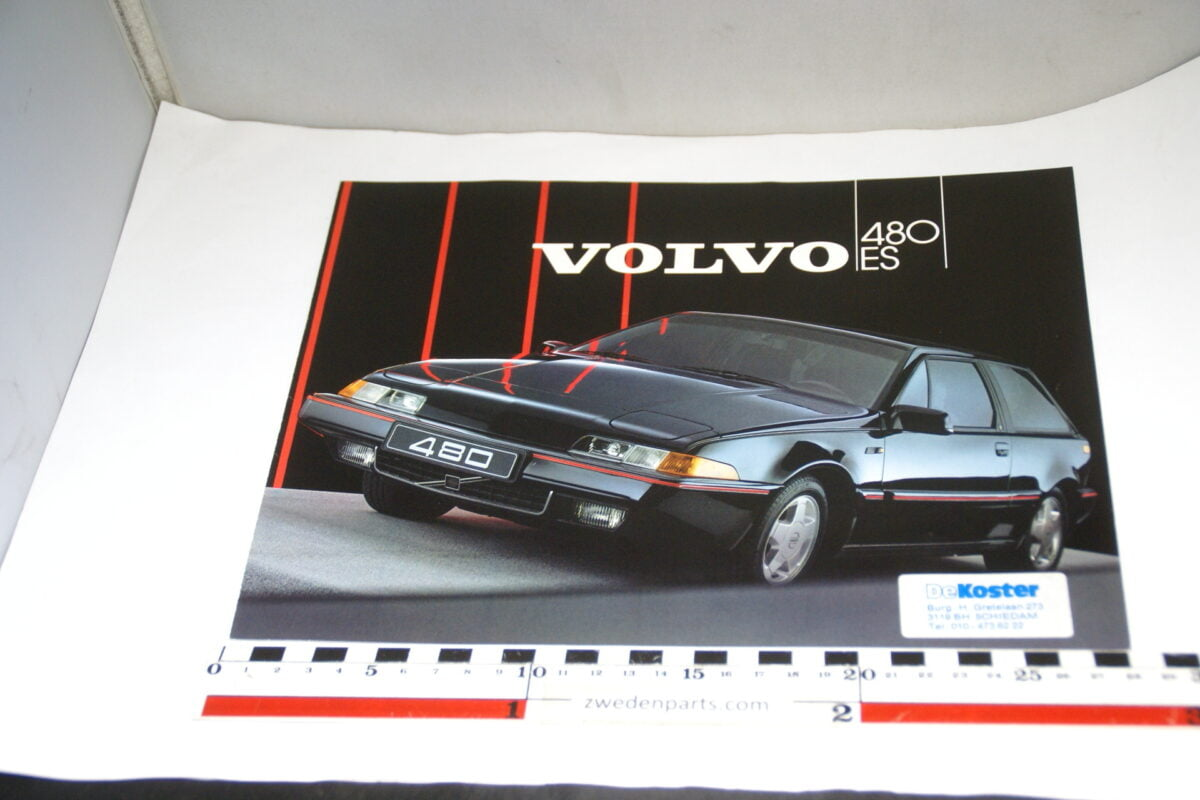 DSC03357 ca. 1985 originele brochure Volvo 480ES-69387577