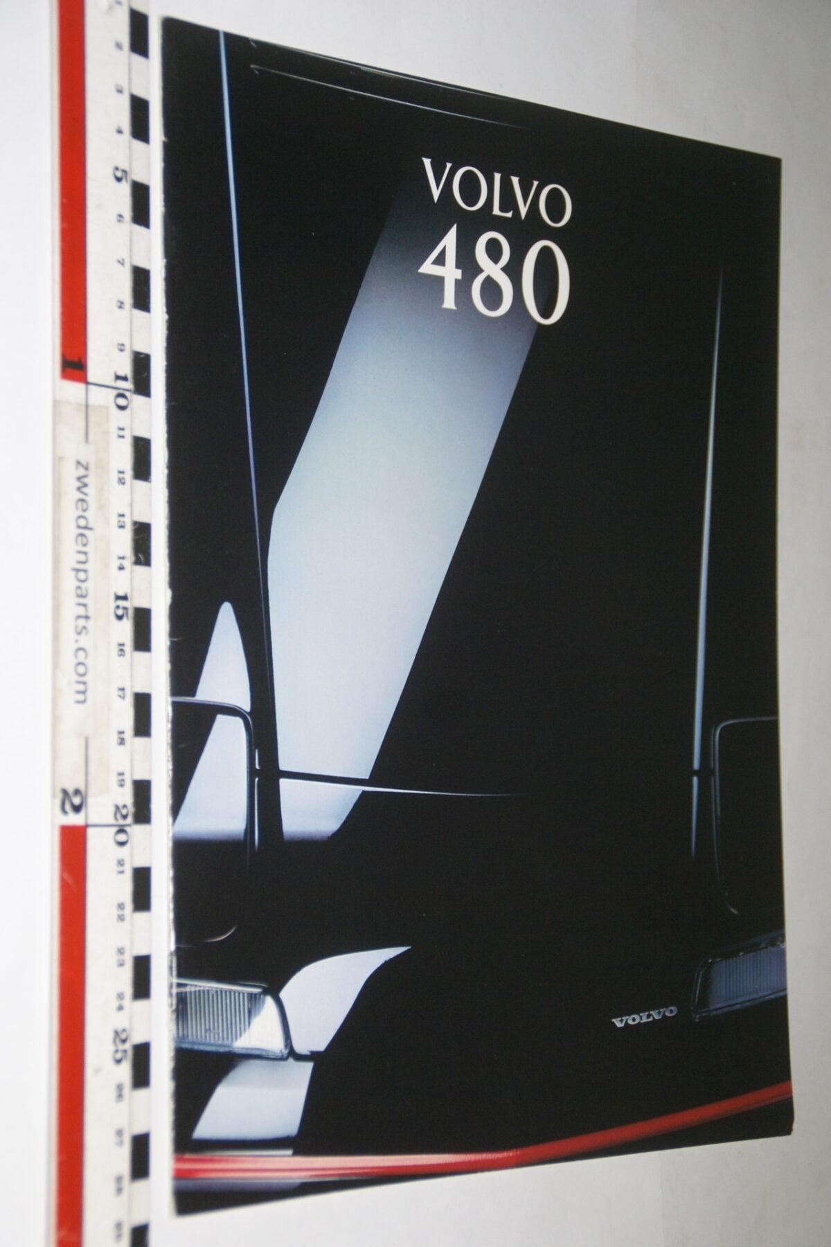 DSC03363 1993 originele brochure Volvo 480 nr. MSCD 8101-703456bd