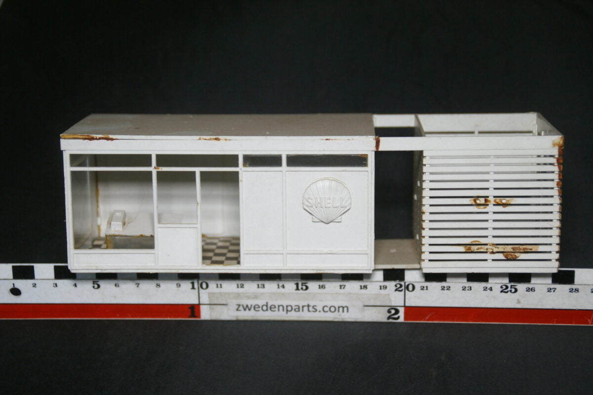 DSC03646 ca 1960 origineel miniatuur tankstation SHELL ca. 1 op 43-c619934f