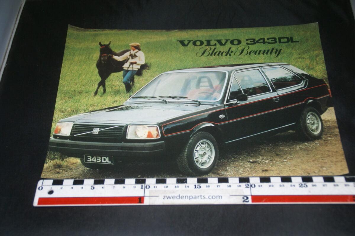 DSC03656 1978 originele brochure Volvo 343DL Black Beauty nr RSPPV 5698-85040c35