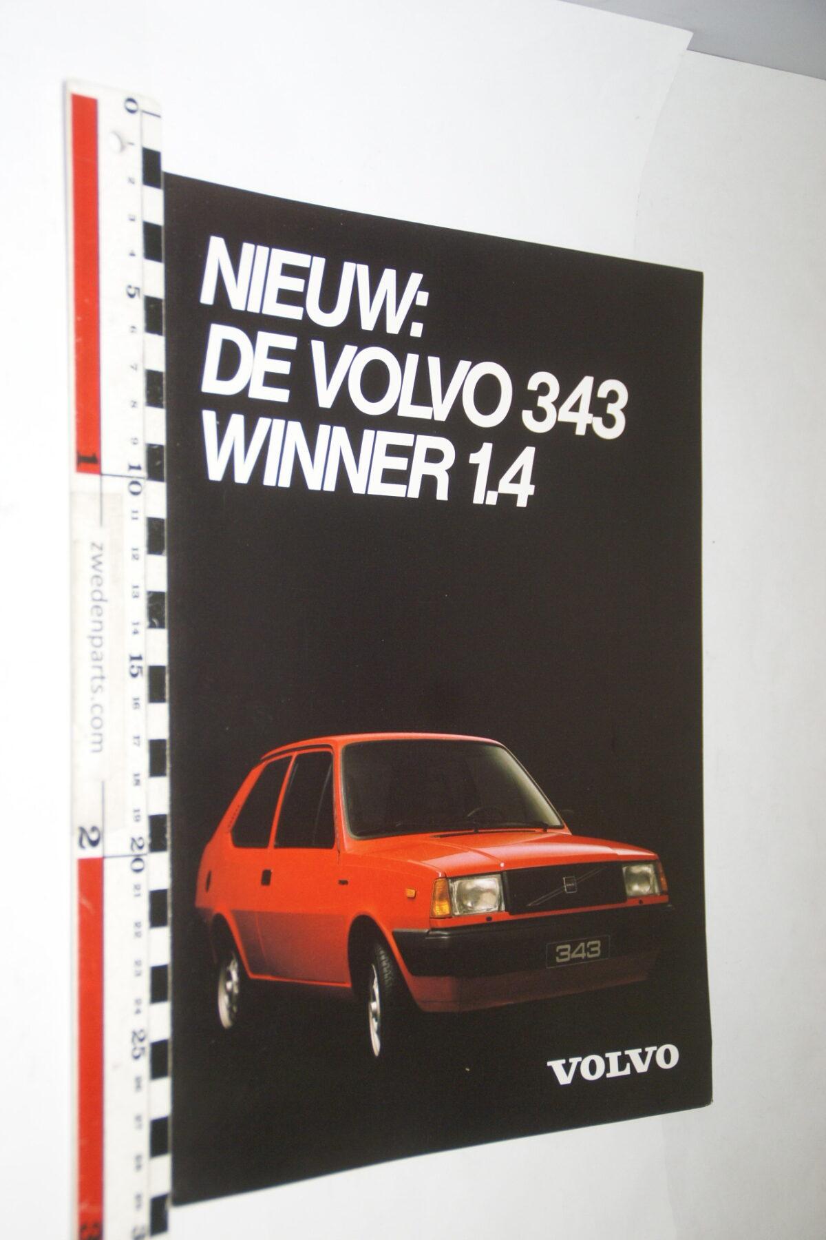 DSC03657 ca. 1978 originele brochure Volvo 343 Winner 1.4-0bf72155
