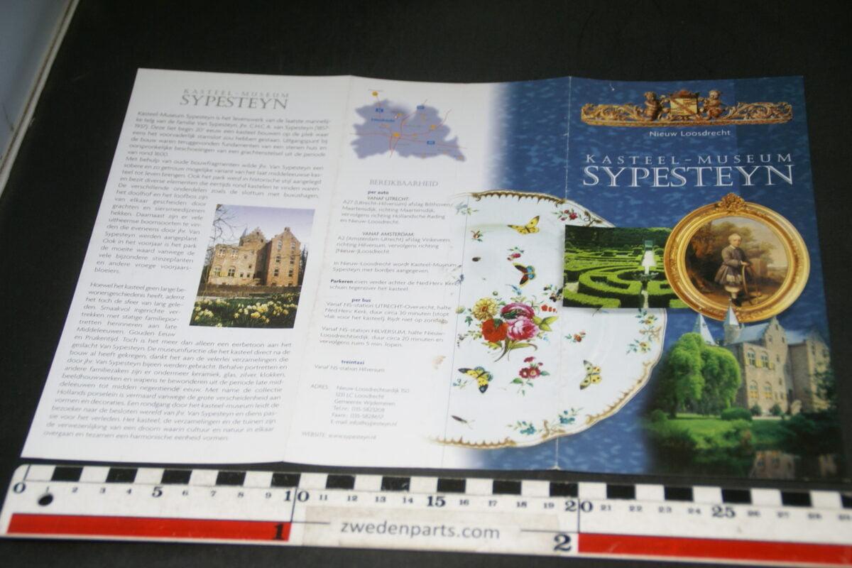 DSC03676 1999 boek Kasteel-Museum Sypesteyn Loosdrecht met Loosdrechts porselein-795da59b