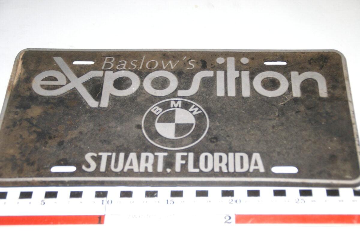 DSC03696 1990 USA nummerplaat BMW Stuart Florida-5053a575
