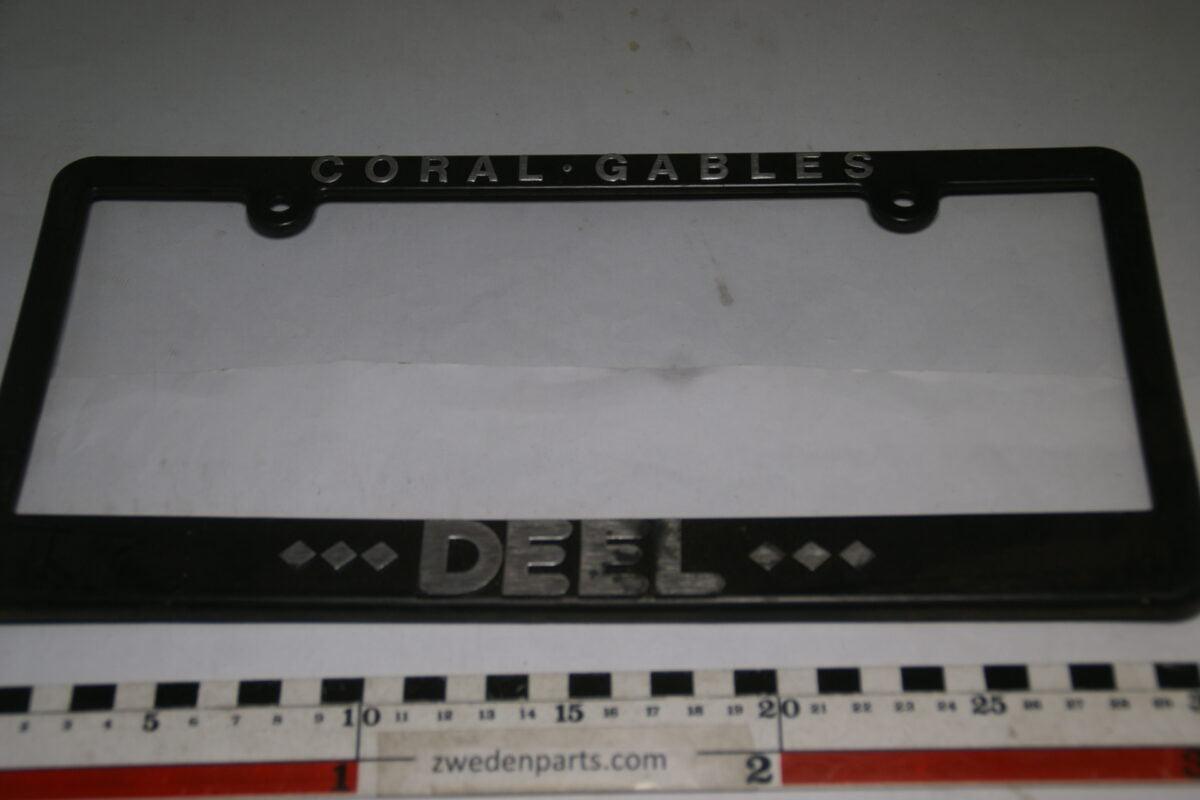 DSC03697 ca. 1990 USA nummerplaathouder Coral Gables DEEL-1a82d75f