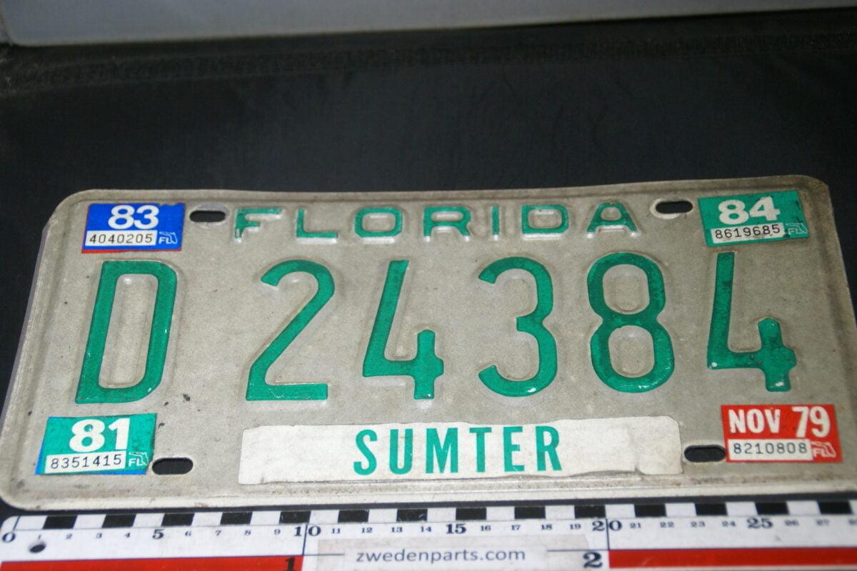 DSC03700 1979 originele USA nummerplaat Florida-1d152dcc
