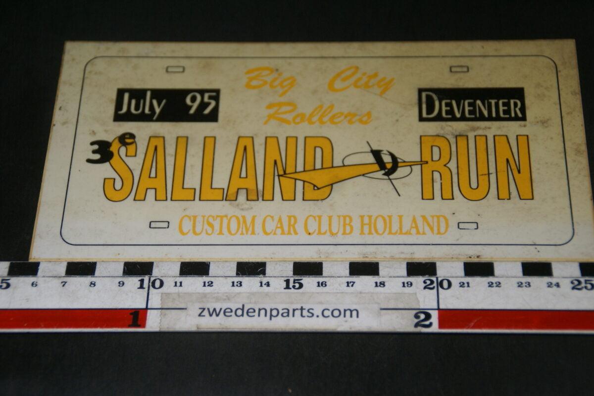 DSC03705 1995 origineel rallybord Salland Run Deventer-89d90f9a