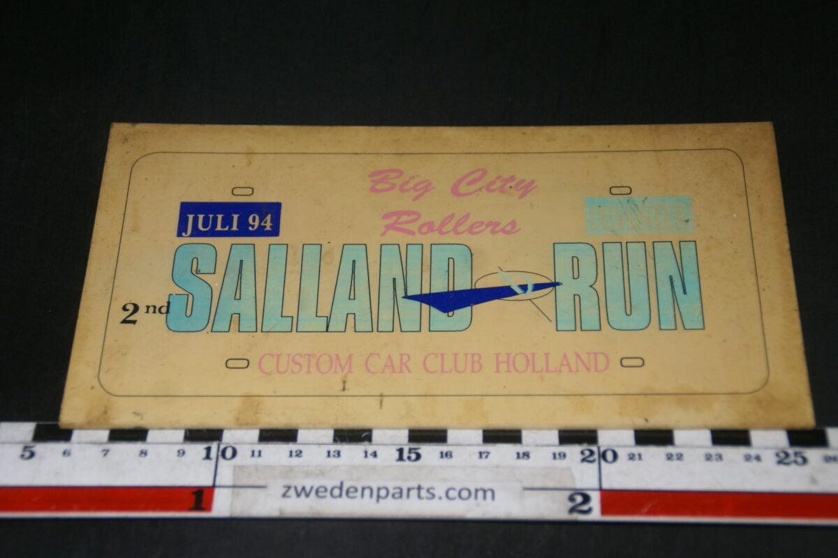 DSC03706 1994 origineel rallybord Salland Run Deventer-b54e94e4