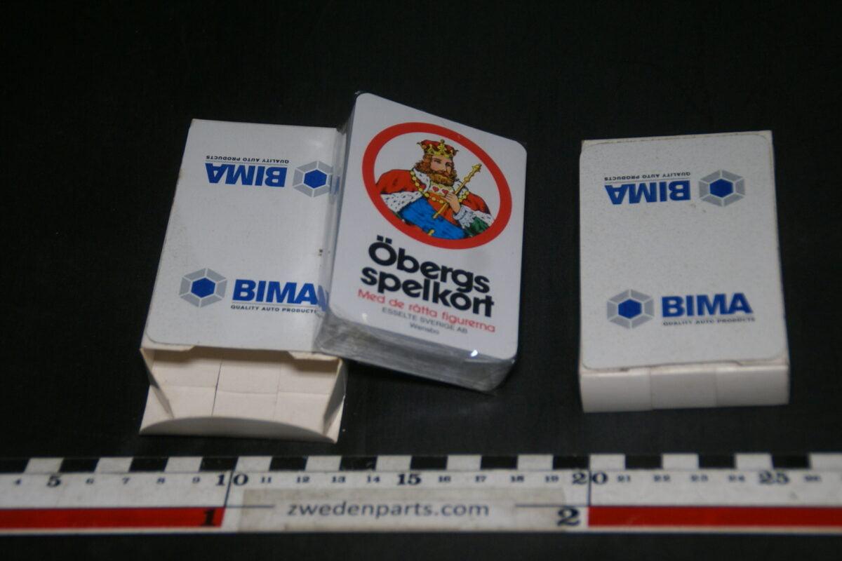 DSC03707 kaartspel Bima 2 stuks, splinternieuw-a8d71ed8