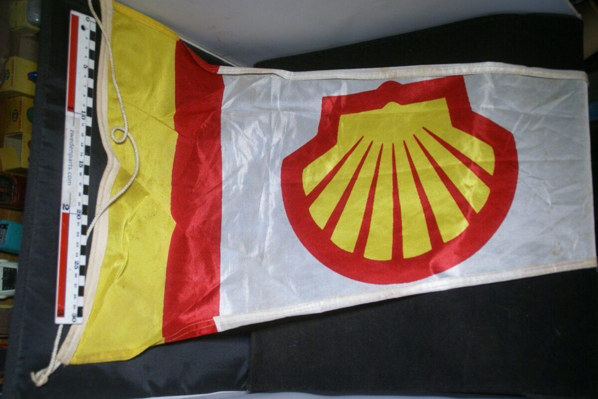 DSC03709 ca 1970 originele vlag SHELL ca. 30 x 100 cm NOS-f162ee24