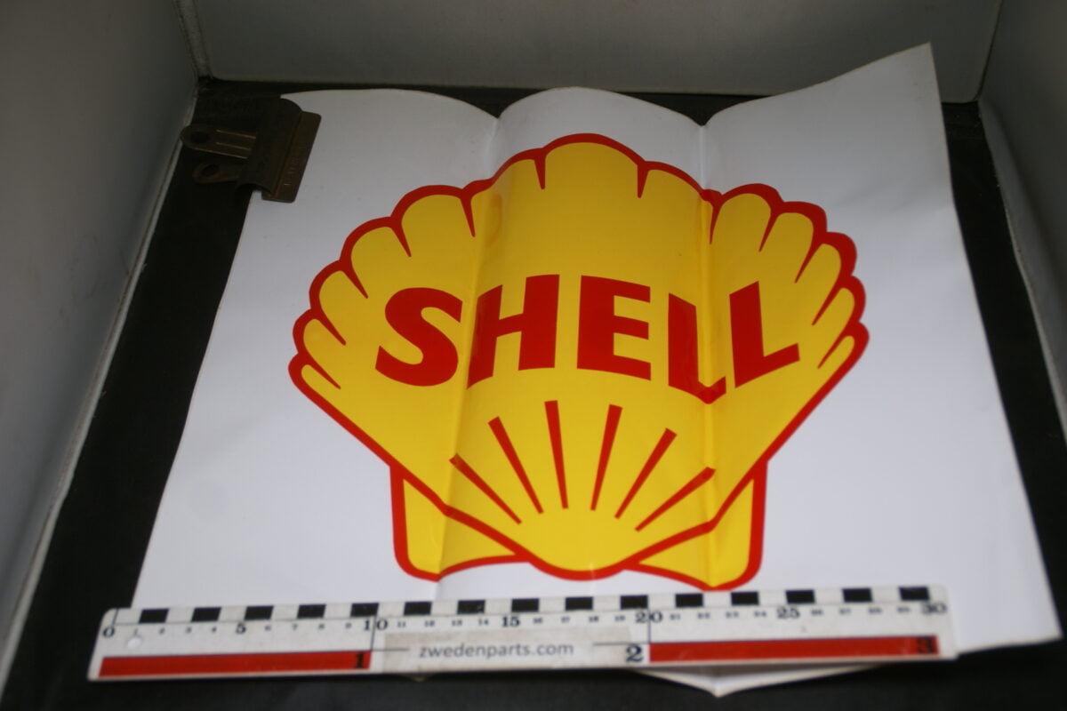 DSC03717 ca 1970 grote originele sticker SHELL NOS-3f3b9534