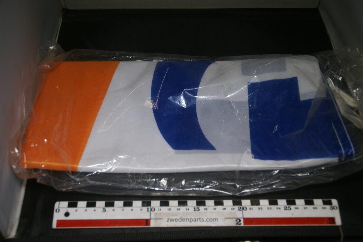 DSC03728 ca 1970 originele vlag GULF olie, ca. 120 x 180 cm, NOS-2c4ce31b