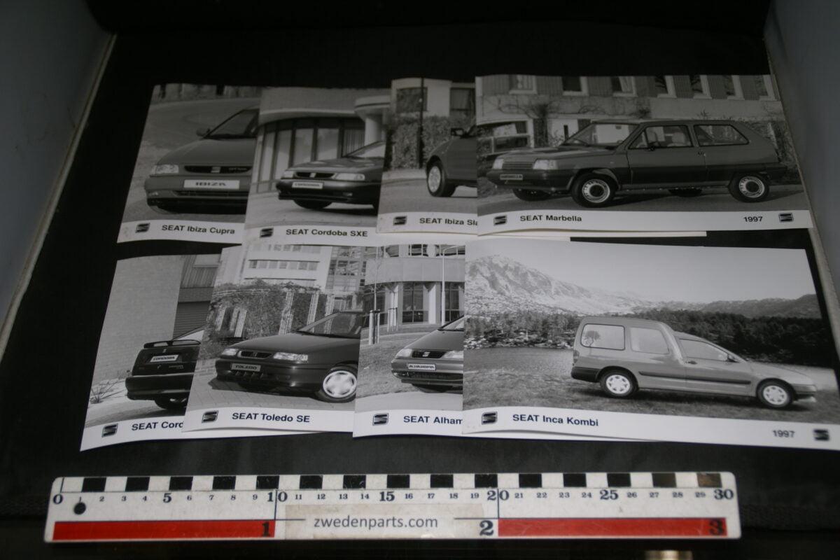 DSC03733 ca 1997 originele persfoto's SEAT, 8 stuks-b4fba2f2
