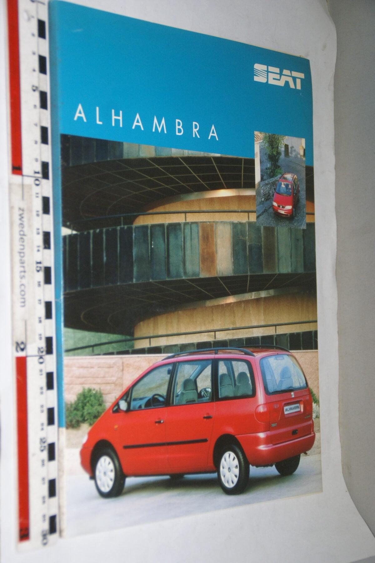 DSC03743 1996 originele persmap SEAT Alhambra-443eac2c