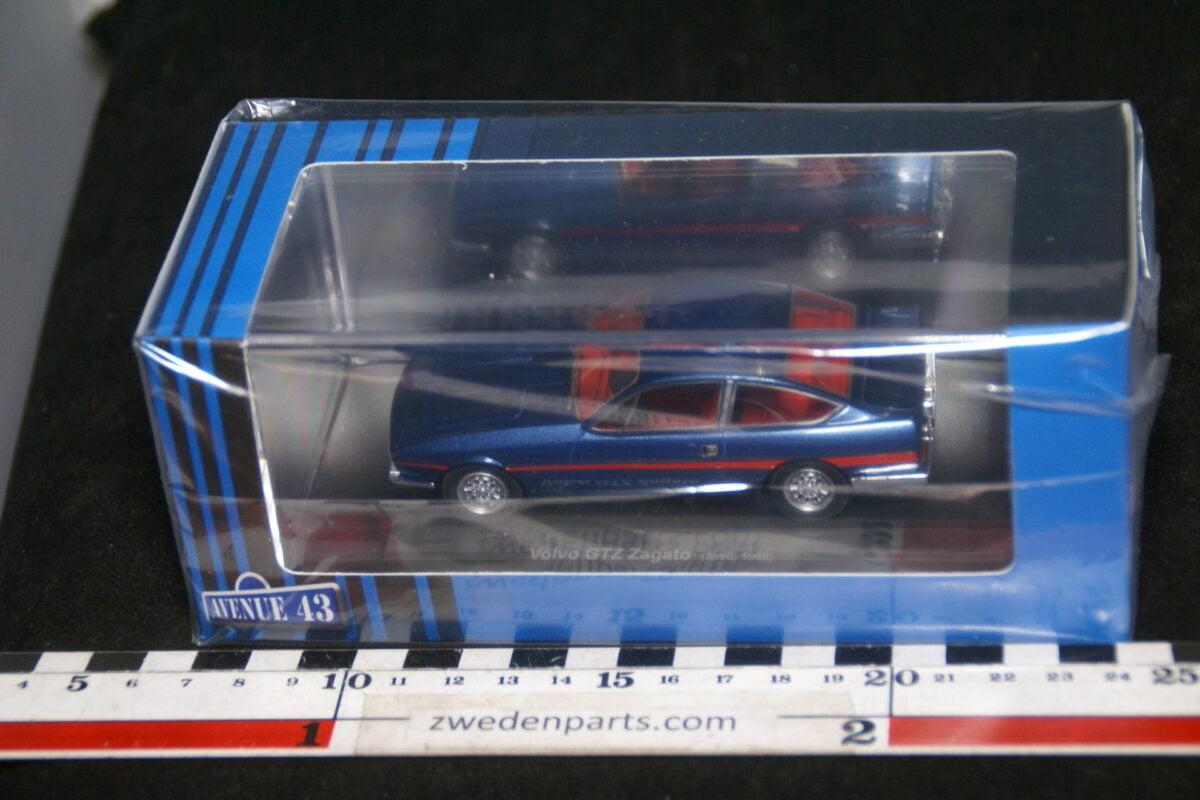 DSC02094 origineel miniatuur Volvo GTZ Zagato prototype blauw 1op43 Avenue 43 MB-9996d36b