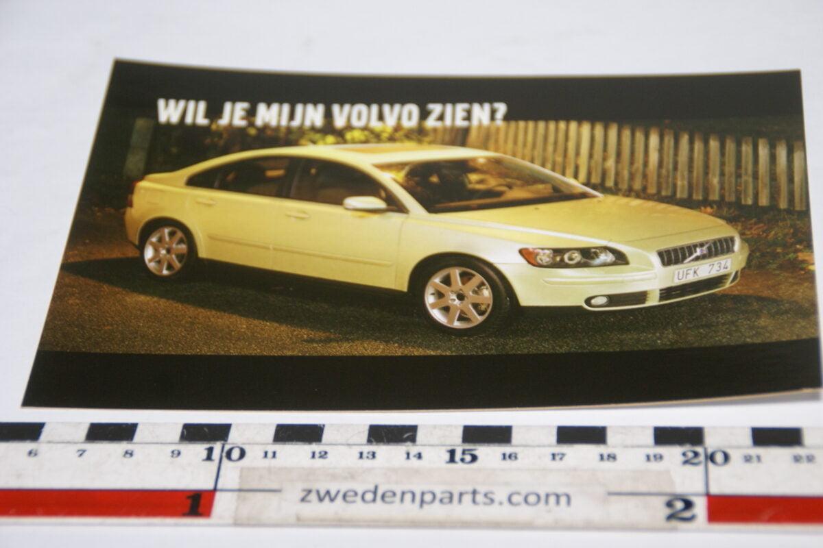 DSC02146  originele prentbriefkaart Volvo S40, mint nr 2-ac6d2327