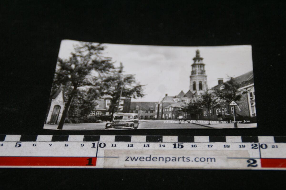 DSC02147  originele prentbriefkaart Middelburg met Volvo 445-12246ed5
