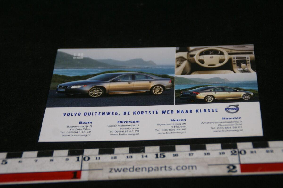 DSC02149  originele prentbriefkaart Volvo dealer Buitenweg mint-5e3f1c88