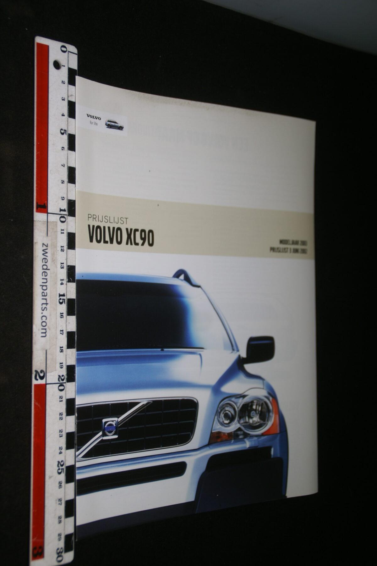 DSC04434 2003 brochure Volvo XC90 nr. MY 03 0503-220b2044