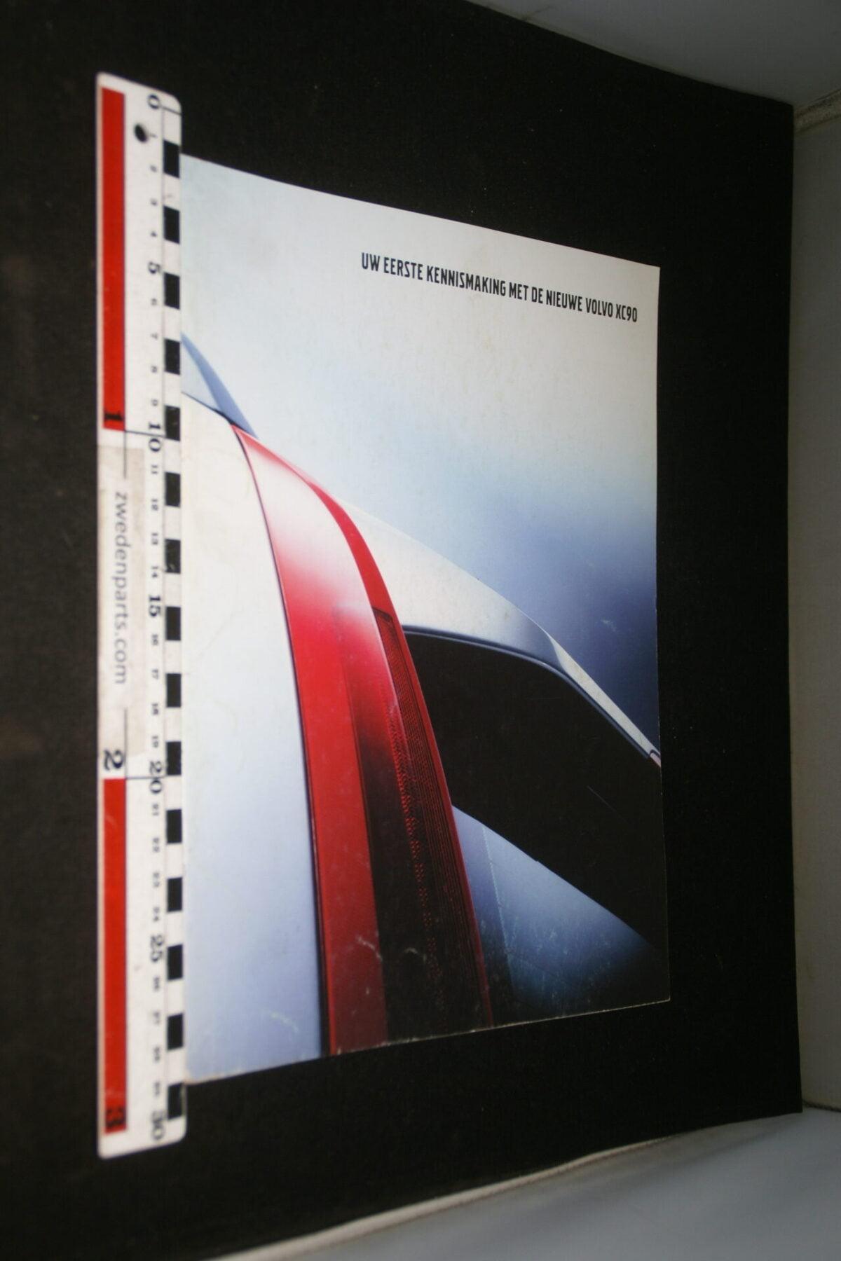 DSC04437 2002 brochure Volvo XC90 nr. 1 2002-V1-8c012099