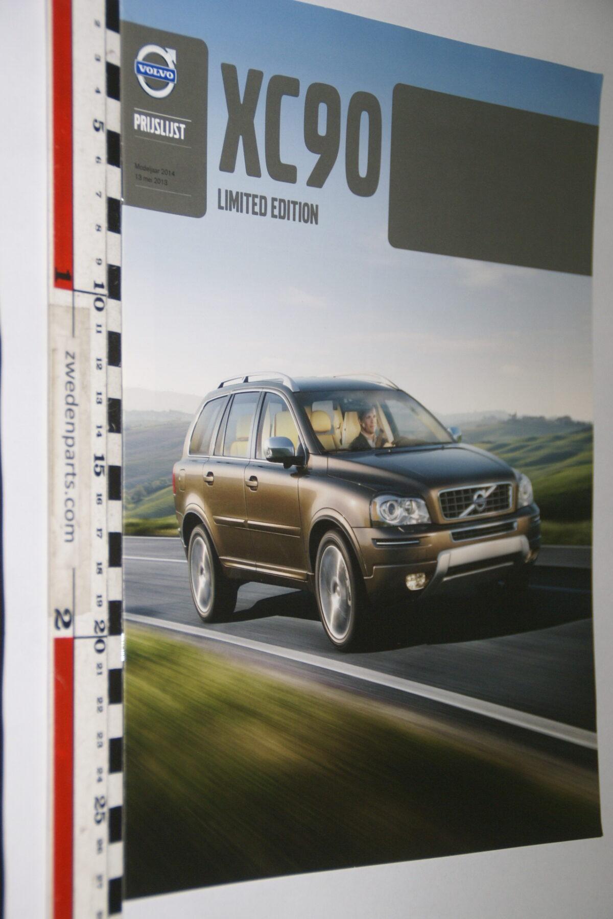 DSC04446 2014 brochure Volvo XC90 nr. MY 14 03-2013-V1-1130dd46