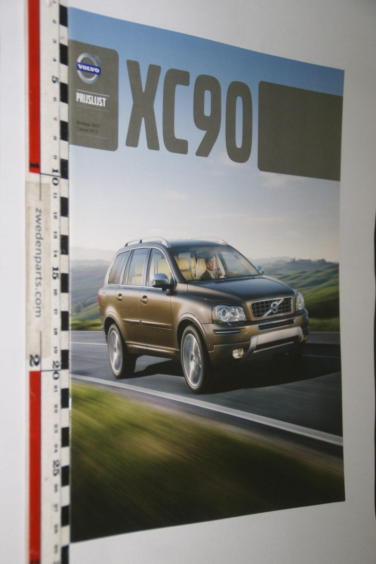 DSC04448 2012 brochure Volvo XC90 nr. MY 12 01-2012-V3-d2f43e1a