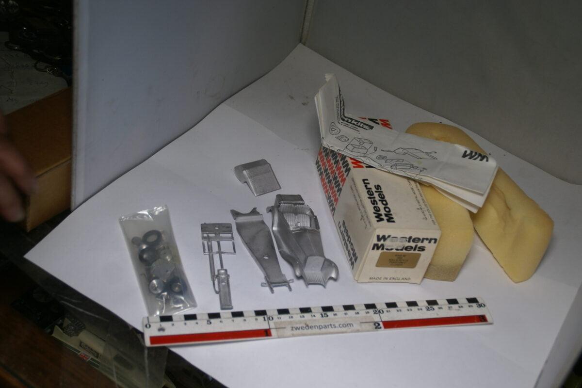 DSC04680 ca. 1978 miniatuur kit 1933 Rolls Royce Phantom II 1op43, Western Models nr 8Z MB-0b91e9c7