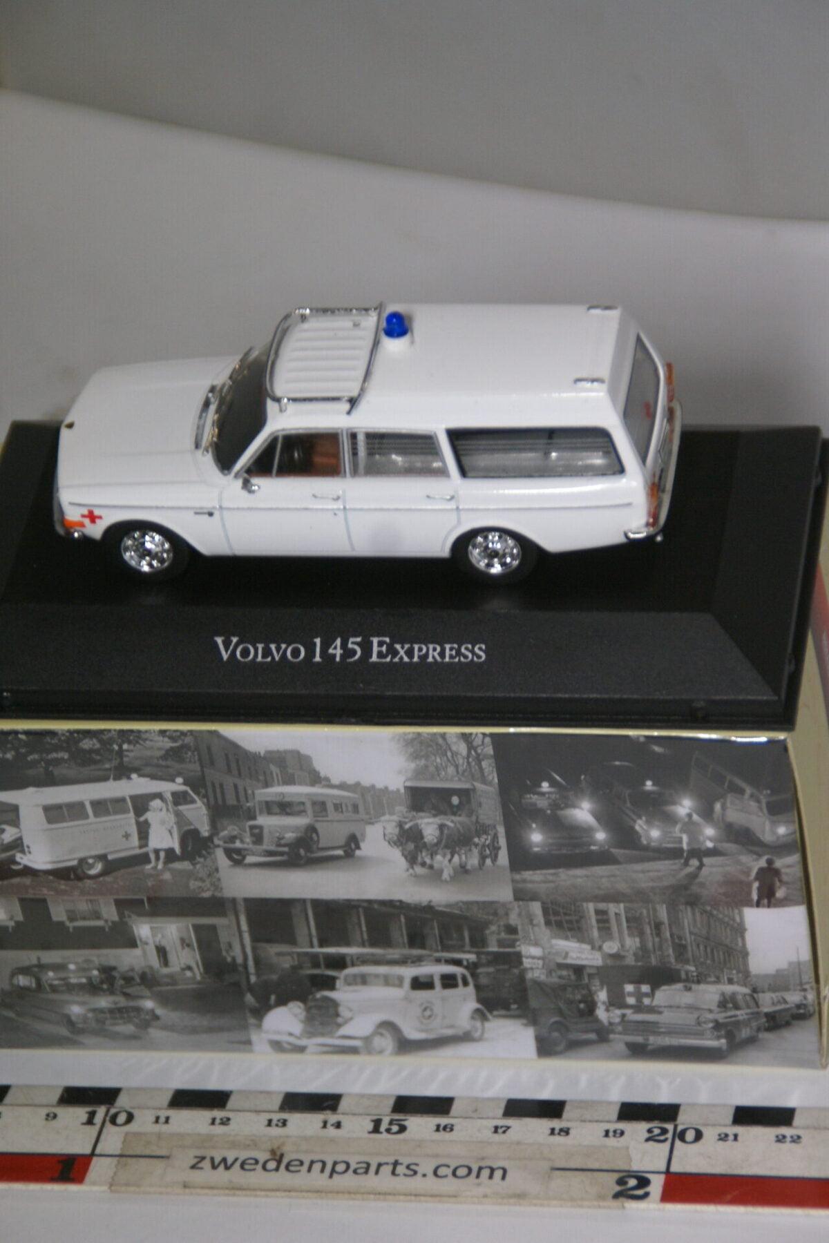 DSC04690 miniatuur 1970 Volvo 145 Express ambulance 1op43 Atlas nr 7495007 MB-ae9748b8