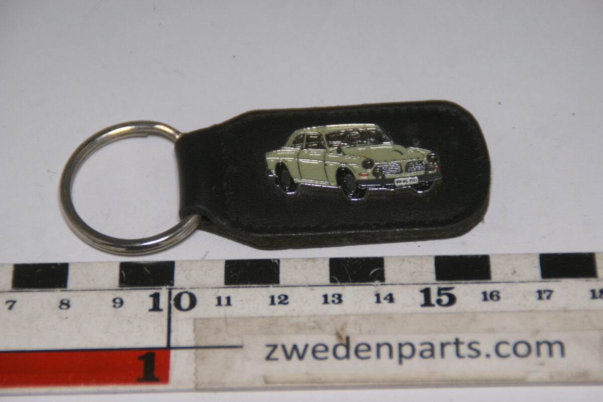 DSC04711 originele sleutelhanger 1965 Volvo 130 Amazon geelgroen-5da66f19