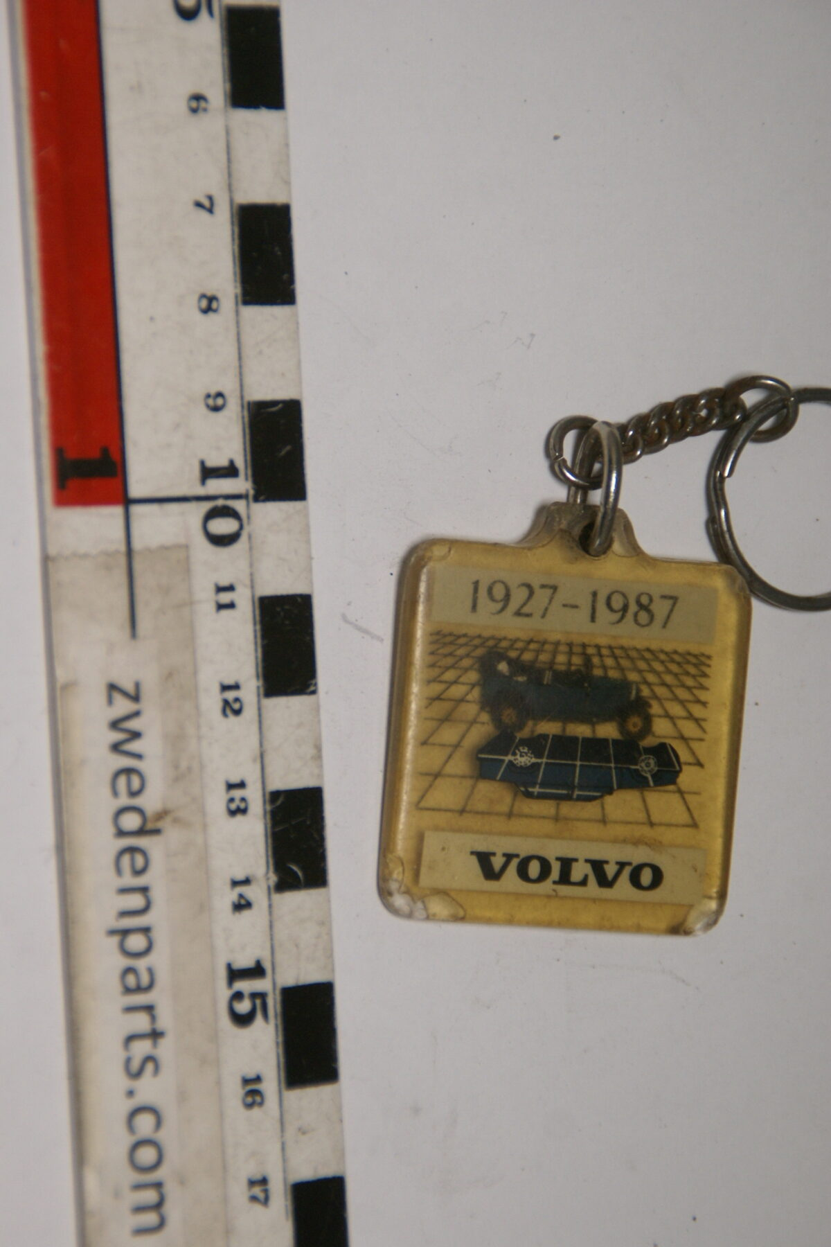 DSC04721 1987 originele sleutelhanger Volvo 1927-1987 Jakob en 764-d5728a3b