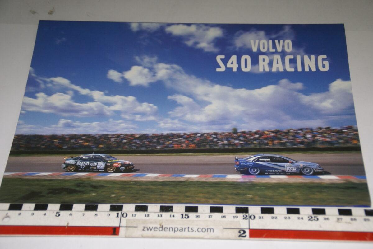 DSC04736 ca. 1998 originele brochure Volvo S40 Racing-e46c63ce
