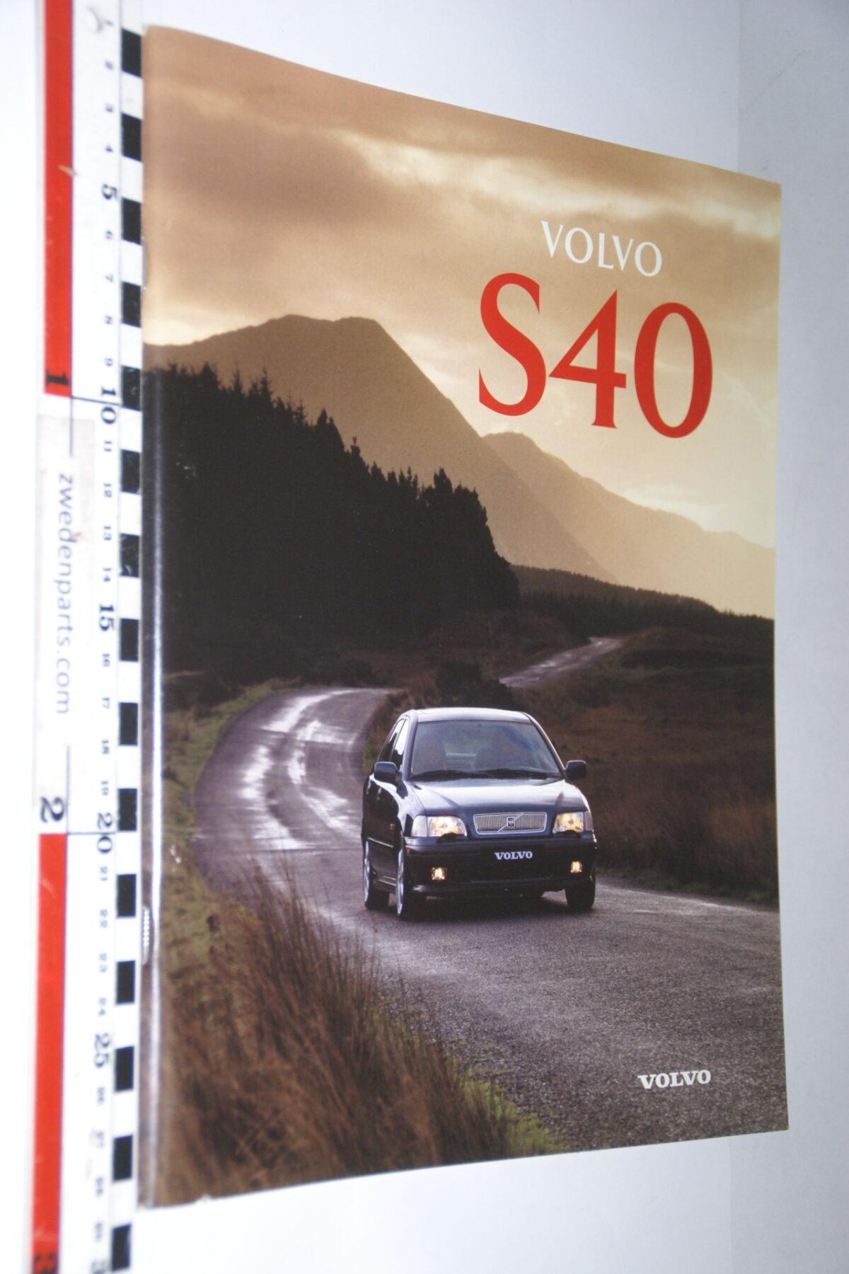 DSC04739 1996 originele brochure Volvo S40 nr MSPV 8055-f526b22a