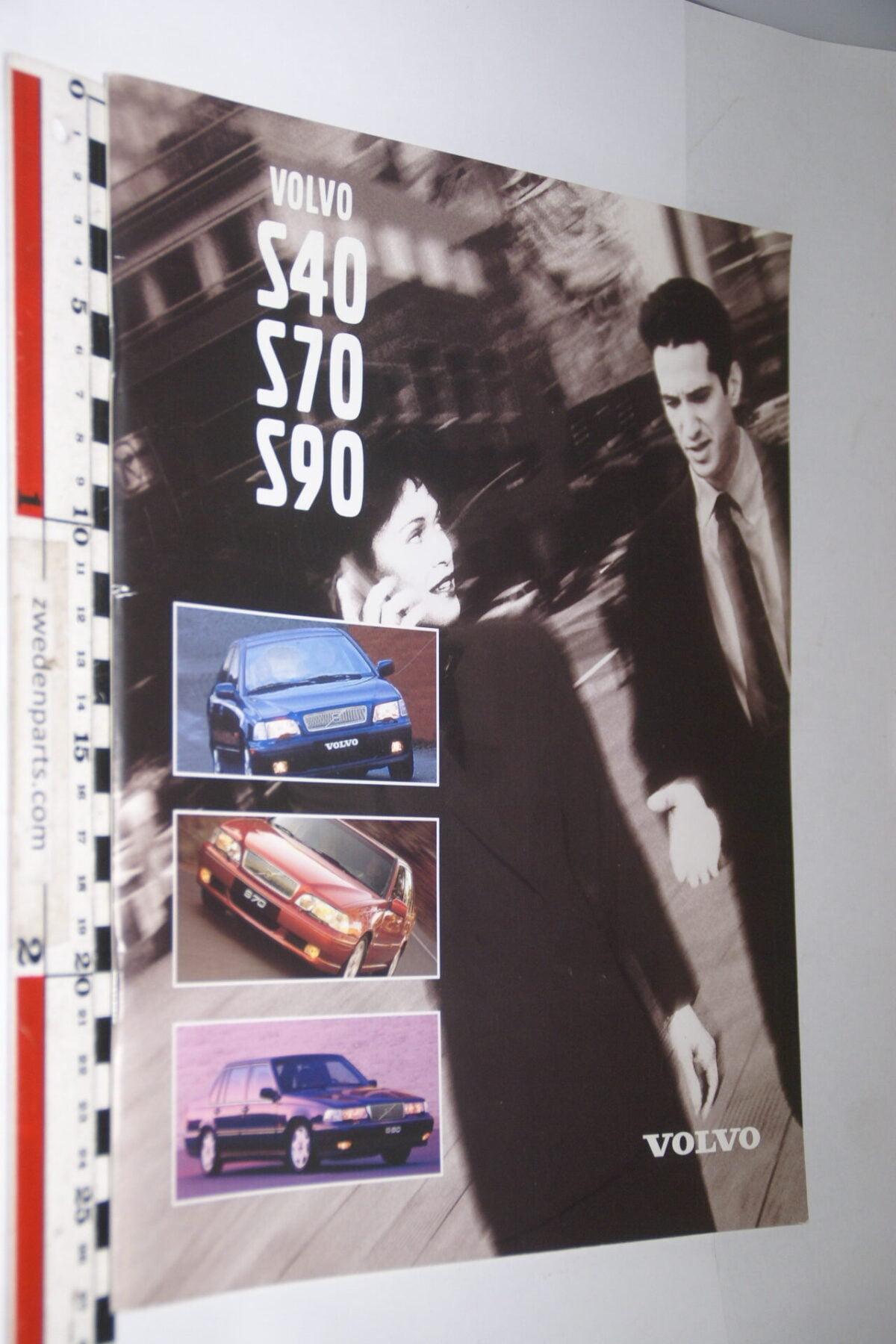 DSC04745 1997 originele brochure Volvo S40 S70 S90 nr C0897-8eaa7f47