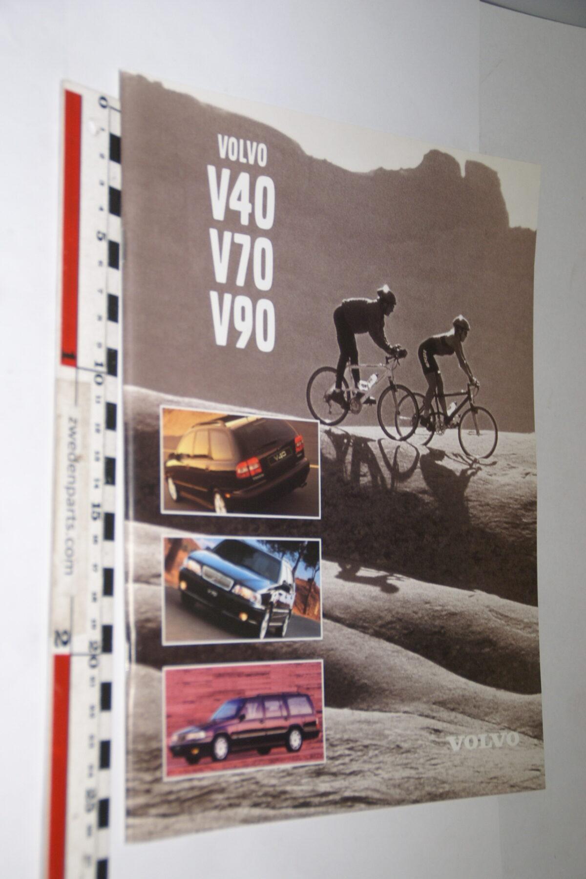 DSC04748 1997 originele brochure Volvo V40 V70 V90 nr C0897-a172aaf3