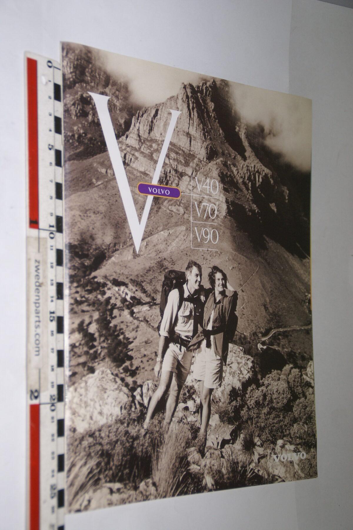 DSC04751 1997 originele brochure Volvo V40 V70 V90 nr A0197-cbdbd8b5