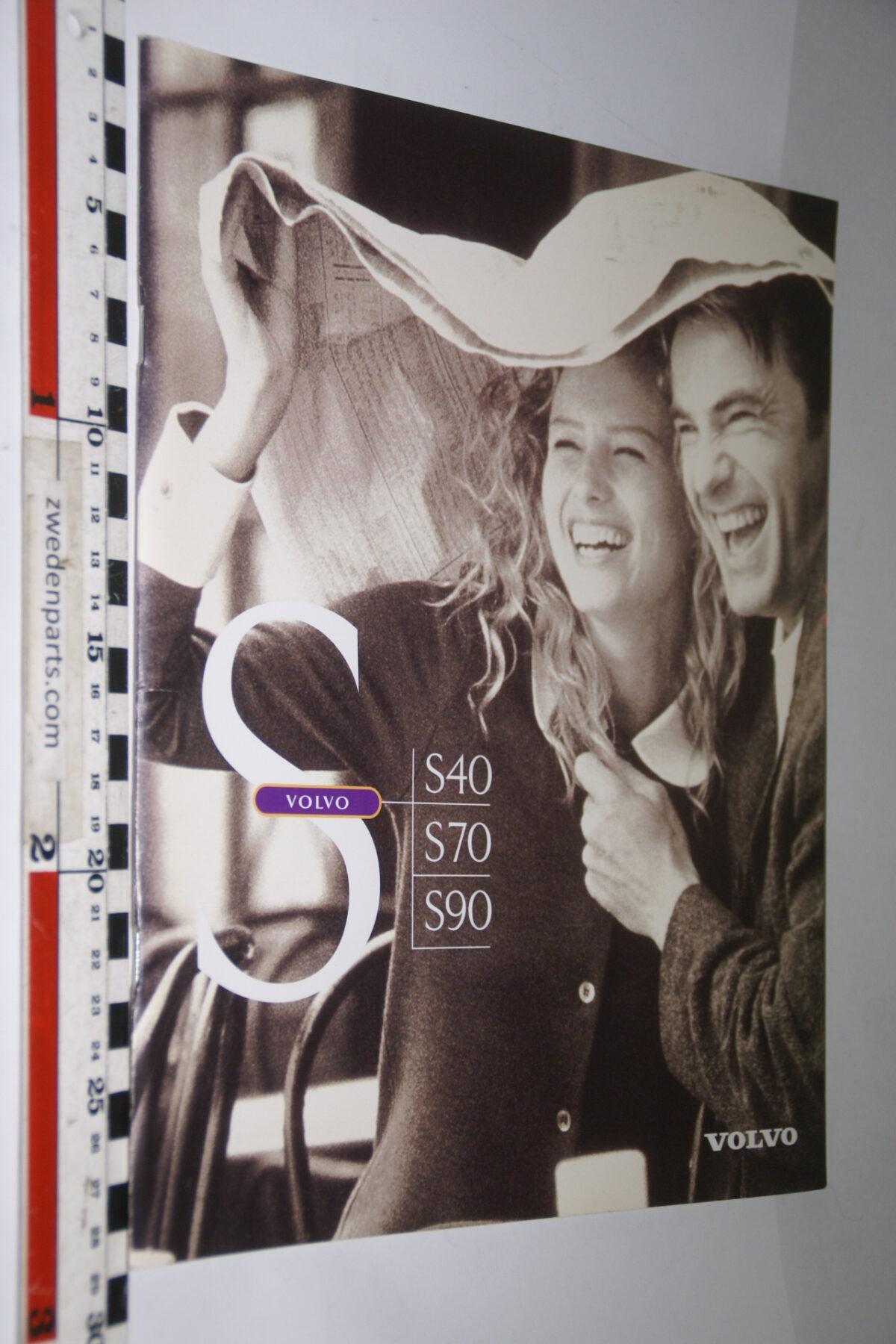 DSC04758 1997 originele brochure Volvo S40 S70 S90 nr A0197-c66abf46