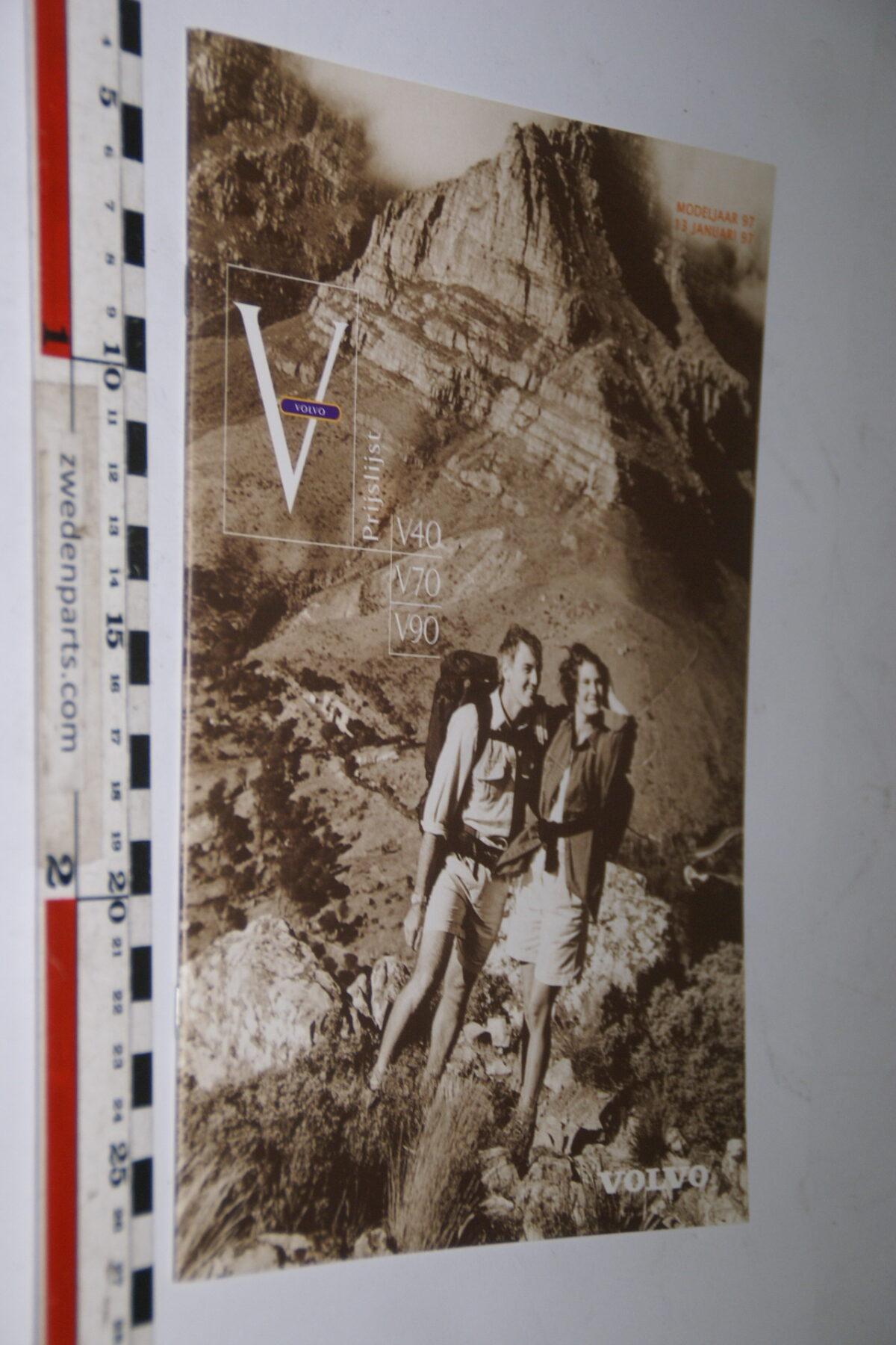 DSC04993 1997 originele brochure nr. VO1970113 Volvo V40 V70 V90-4c7a7b15