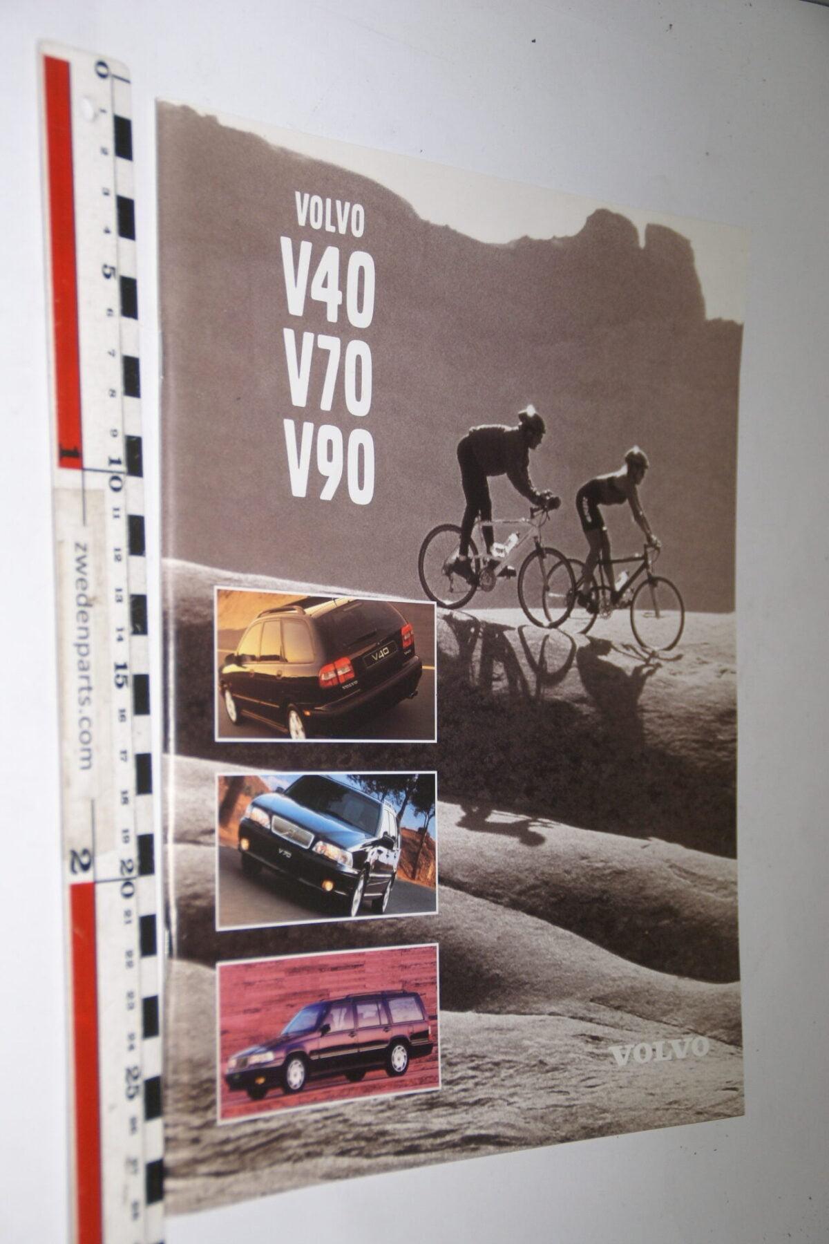 DSC04995 1997 originele brochure nr. C0897 Volvo V40 V70 V90-fef8bb6f