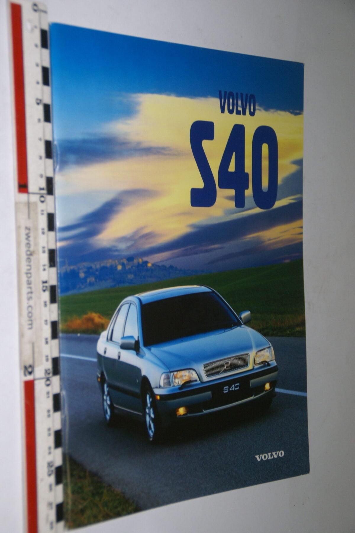 DSC05009 ca. 1996 originele brochure Volvo S40-f5341f3b