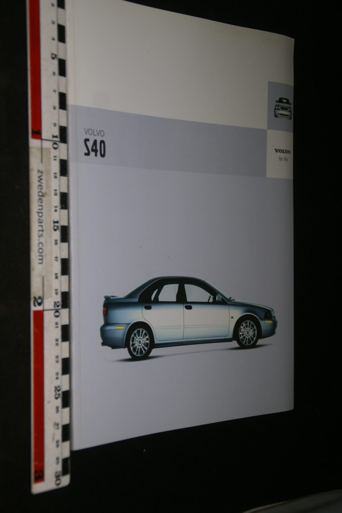 DSC05014 2003 originele brochure nr. MSPV 527 MY04 0103 V1 Volvo S40-f186eb5c