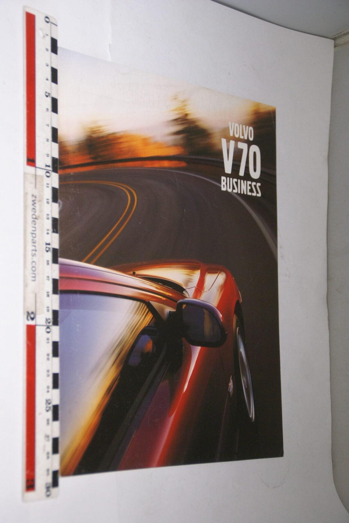 DSC05252 2000 originele brochure Volvo V70 Business nr VB-PV 145, Svensk-5faf0966