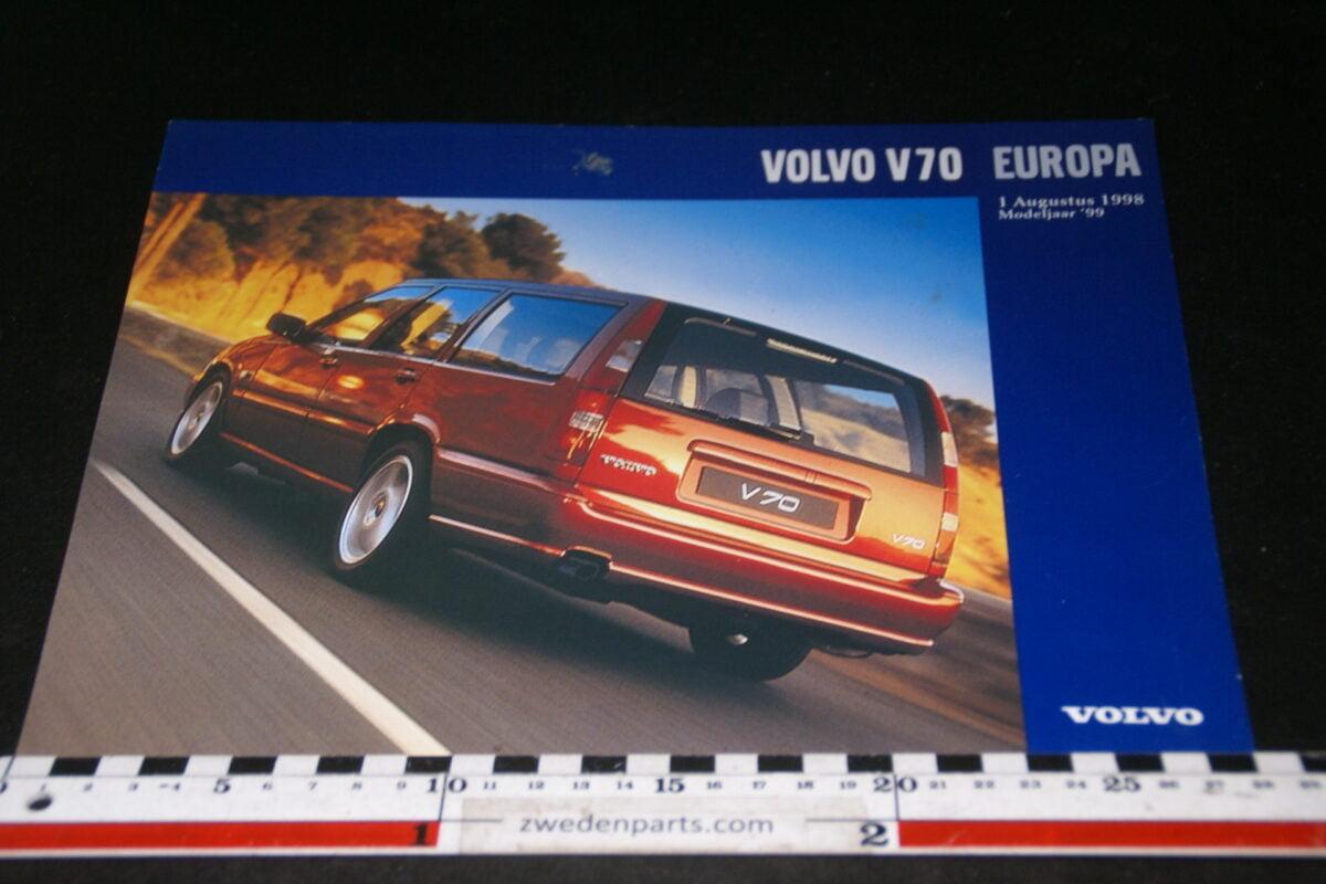 DSC05261 1999 originele brochure Volvo V70 Europa nr V70-01-457d9d42
